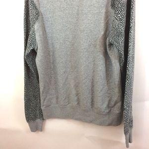 7a403304d312 Jordan Sweaters - AIR JORDAN Python Logo Gray Crewneck Sweatshirt